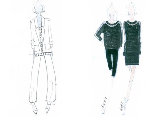 Gwyneth Paltrow sketches