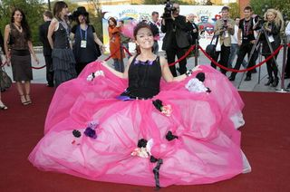 Pink poof dress