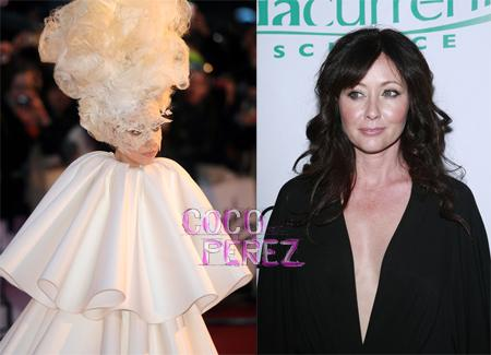 Shannen Doherty loves Lady Gaga Style